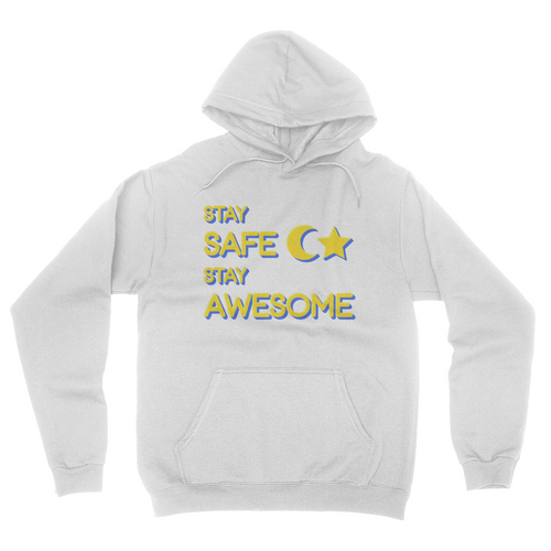Charriii5 Stay Safe Stay Awesome Hoodie