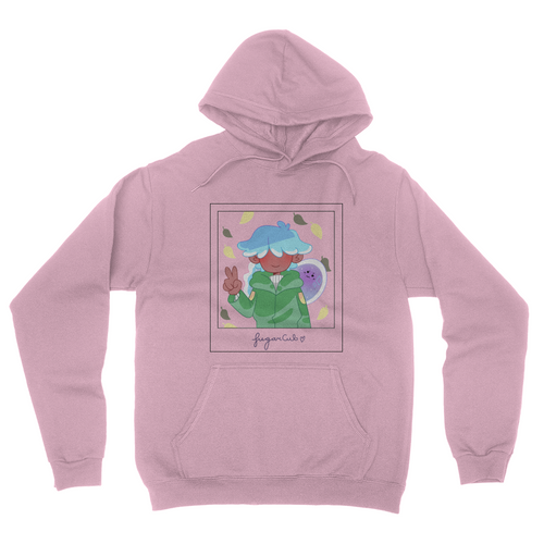 Polaroid Ghost Hoodie (Black outline)