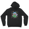Polaroid Ghost Hoodie (White outline)