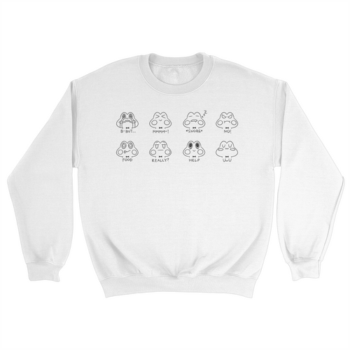 Kero Faces Crewneck Sweater