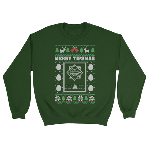 Merry Tipsmas Holiday Sweater