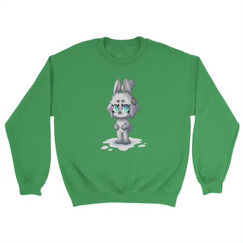 RadicalSoda Snow Rabbit Poppy Sweater