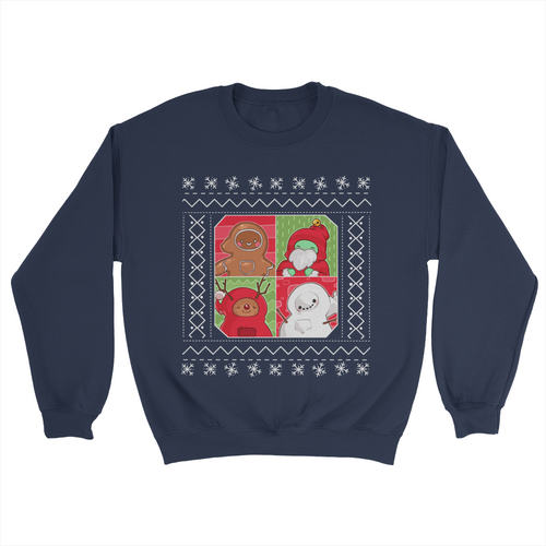 Gingerpale 4-Panel Christmas Sweater