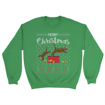 Zoetwodots Ugly Holiday Sweater