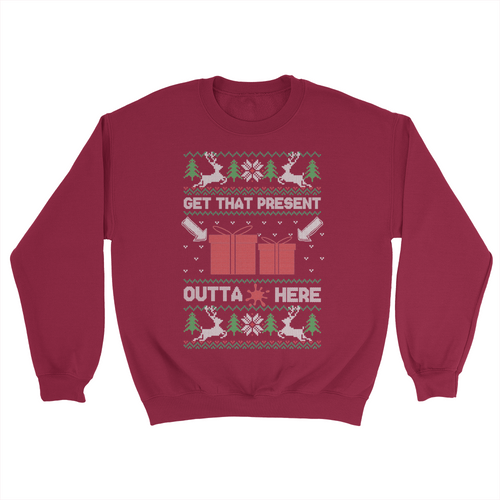 Outta Here Holiday Sweater