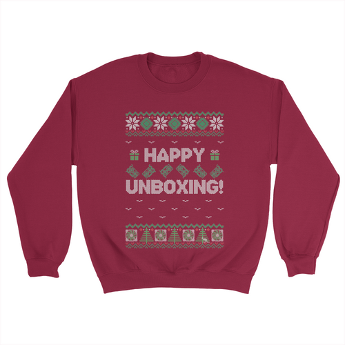 Hardware Unboxed Happy Unboxing Sweatshirt