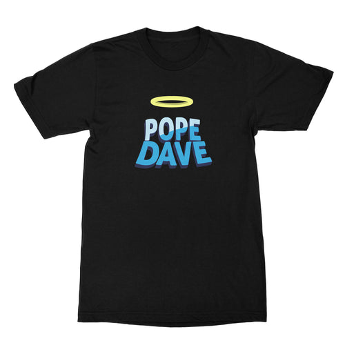 PopeDave Black T-Shirt