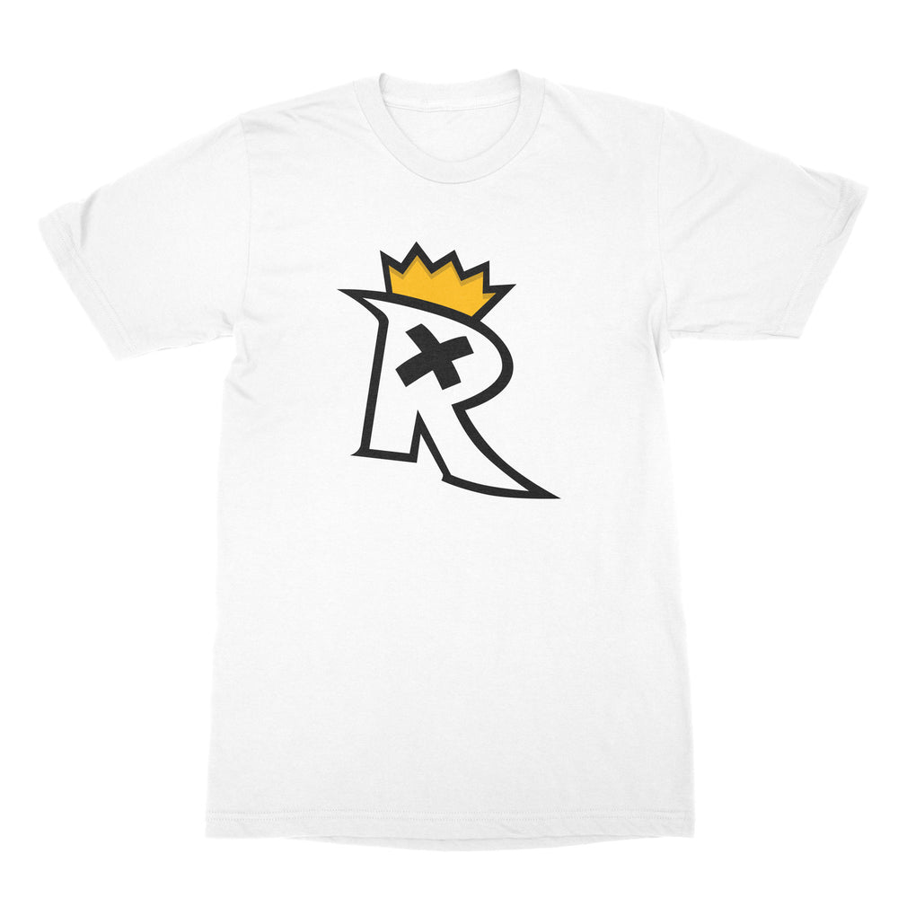 R Logo White T-Shirt