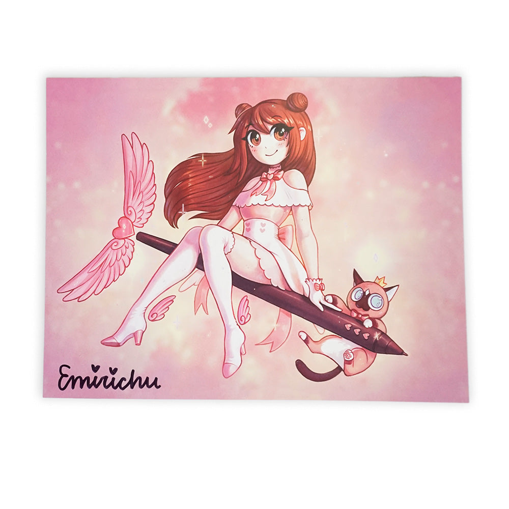 Signed Magical Girl Poster