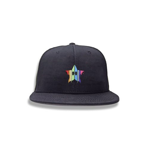 Drippy Star - Embroidered Snapback Hat