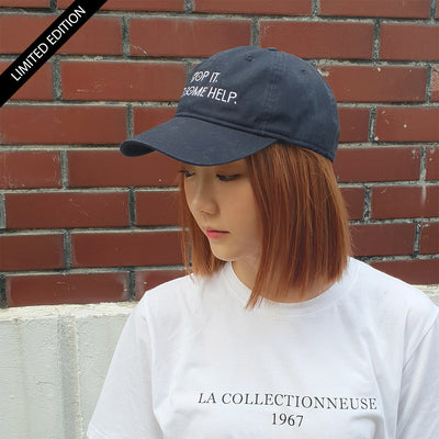 Limited Edition - Stop It. Get Some Help. - Ball Cap - Unisex