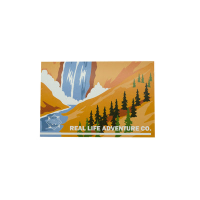 TrainerTips Yellowstone Retro Parks Postcard