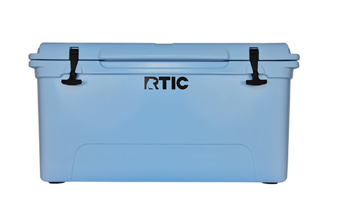 RTIC Blue Cooler 65