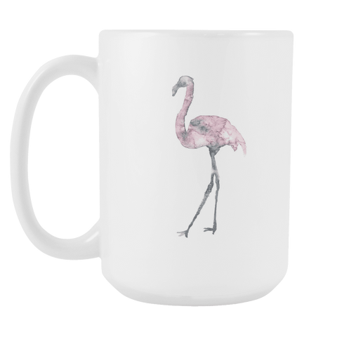 Flamingo - 15oz Coffee Mug - Nana The Noodle