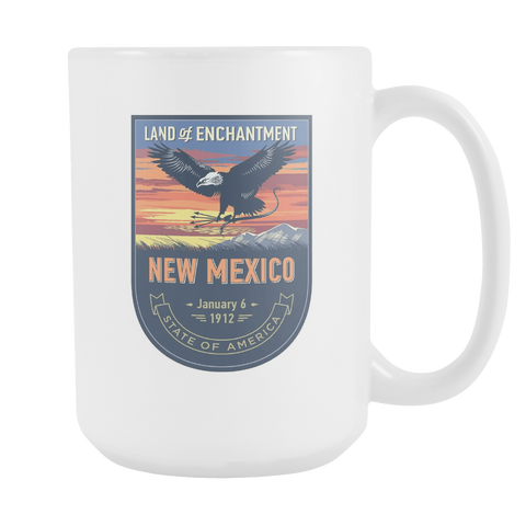 New Mexico - 15oz Coffee Mug (4 Versions) - Nana The Noodle