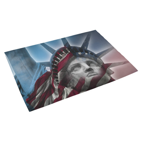 "Statue of Liberty Doormat 30"" x 18"" - Nana The Noodle"