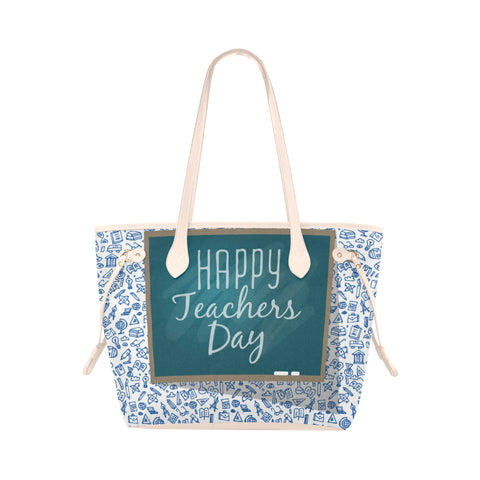 Happy Teachers Day Canvas Tote Bag - Nana The Noodle