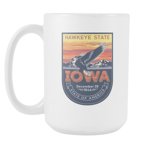 Iowa - 15oz Coffee Mug (4 Versions) - Nana The Noodle