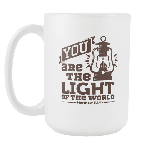 You Are The Light Of The World - 15oz Coffee Mug - Nana The Noodle