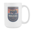 Image of Indiana - 15oz Coffee Mug (2 Versions)