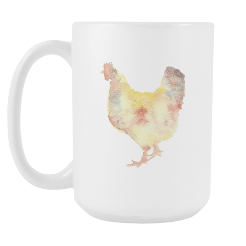 Chicken - 15oz Coffee Mug - Nana The Noodle