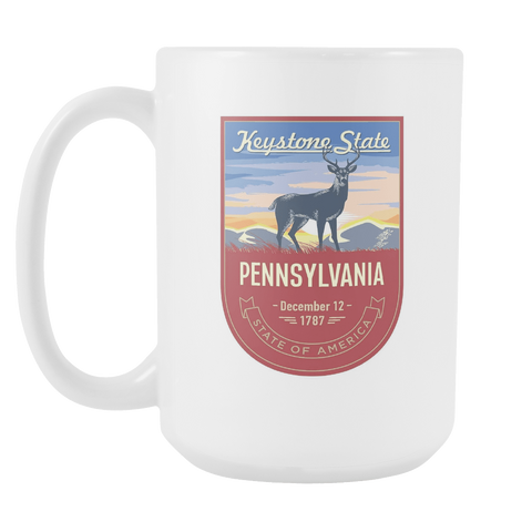 Pennsylvania - 15oz Coffee Mug (3 Versions) - Nana The Noodle