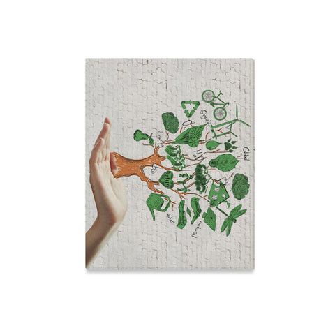 "Ecology Canvas Print 20""x16"" - Nana The Noodle"