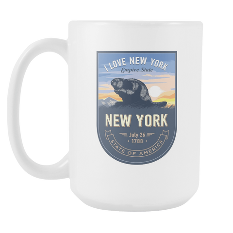 New York - 15oz Coffee Mug (3 Versions)