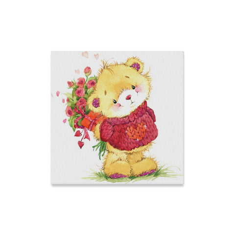 Teddy Bear Canvas Print 16