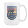 Image of Kansas - 15oz Coffee Mug (3 Versions) - Nana The Noodle