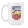 Image of Hawaii - 15oz Coffee Mug (3 Versions) - Nana The Noodle