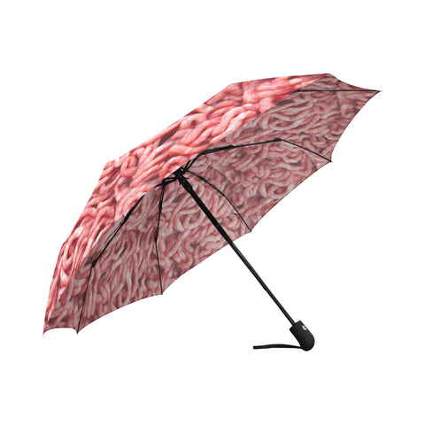 Ground Beef Auto-Folding Umbrella Auto-Foldable Umbrella - Nana The Noodle