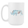 Image of Rhino - 15oz Coffee Mug - Nana The Noodle