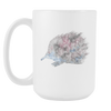 Image of Echidna - 15oz Coffee Mug - Nana The Noodle