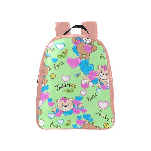Teddy Bear School Backpack (2 Colors)