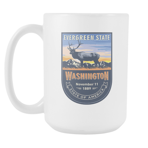 Washington DC - 15oz Coffee Mug (3 Versions)
