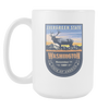 Image of Washington DC - 15oz Coffee Mug (3 Versions) - Nana The Noodle