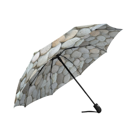 Smooth Pebble Automatic Umbrella Auto-Foldable Umbrella