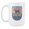 Image of Ohio - 15oz Coffee Mug (3 Versions) - Nana The Noodle