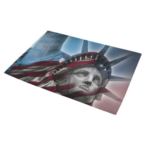 "Statue of Liberty Doormat 30"" x 18"""
