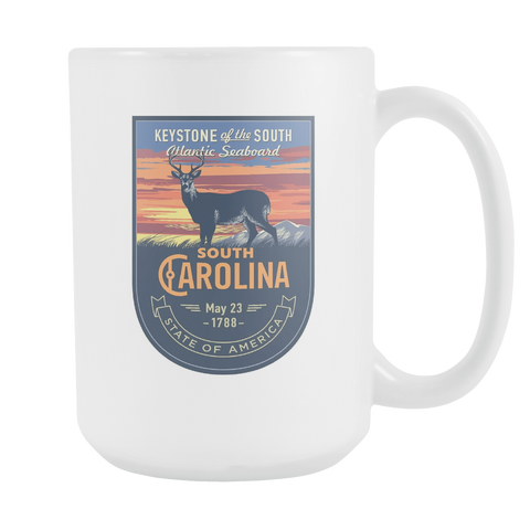 South Carolina - 15oz Coffee Mug (3 Versions) - Nana The Noodle