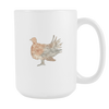 Image of Turkey - 15oz Coffee Mug - Nana The Noodle
