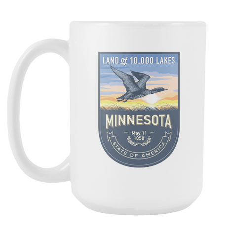 Minnesota - 15oz Coffee Mug (3 Versions)
