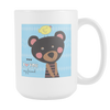 Image of Cute Teddy Bear 15oz Coffee Mugs (5 Styles) - Nana The Noodle