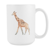 Image of Giraffe - 15oz Coffee Mug - Nana The Noodle