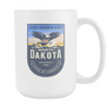 Image of North Dakota - 15oz Coffee Mug (3 Versions) - Nana The Noodle