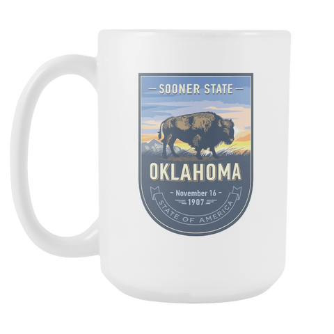 Oklahoma - 15oz Coffee Mug (4 Versions)