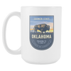 Image of Oklahoma - 15oz Coffee Mug (4 Versions) - Nana The Noodle
