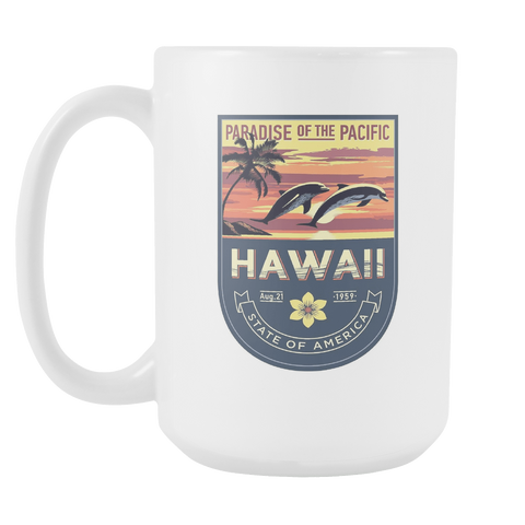 Hawaii - 15oz Coffee Mug (3 Versions) - Nana The Noodle