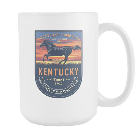 Kentucky - 15oz Coffe Mug (2 Versions)